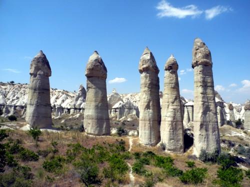 oki_Uchisar und das White und Love Valley, Kappadokien, Türkei